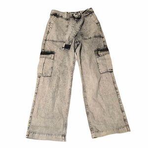 BDG Urban Outfitters highrise belted cargo pants